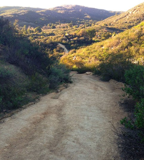 Trails in Escondido